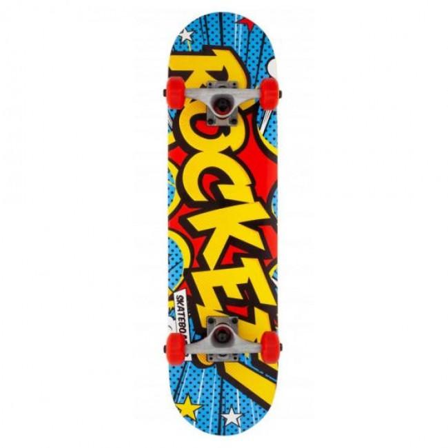 Rocket Popart Mini Complete Skateboard