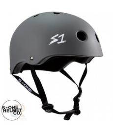 S1 Lifer Lit Scooter Helmet Grey Large