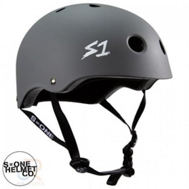 S1 Lifer Lit Scooter Helmet Grey
