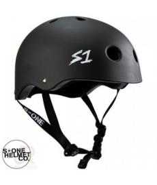 S1 Lifer Lit Scooter Helmet Matt Black Large