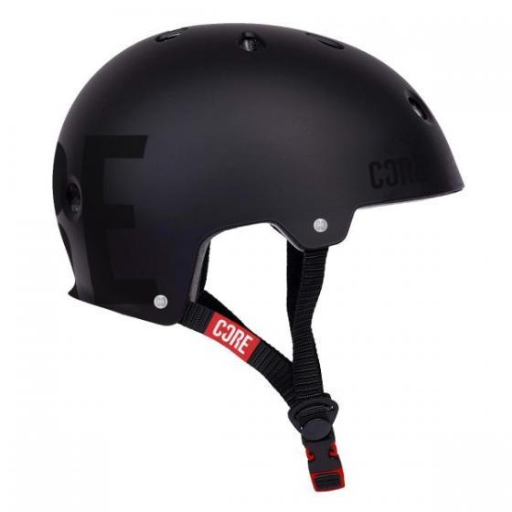 Core Street Scooter Helmet Stealth Black L/XL