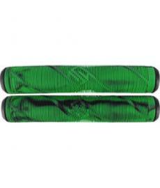 Striker Pro Scooter Grips Black/Green