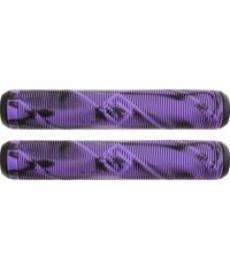 Striker Pro Scooter Grips Black/Purple