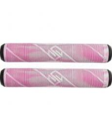Striker Pro Scooter Grips White/Pink