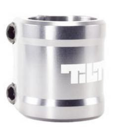 Tilt Arc Scooter Clamp Silver