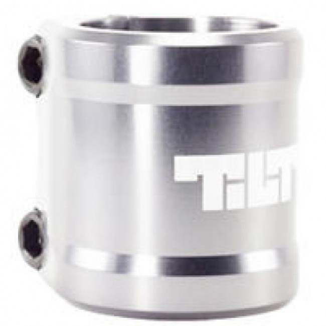 Tilt Arc Scooter Clamp Silver