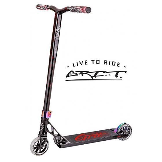 Grit Tremor Stunt Scooter Black/Laser Red