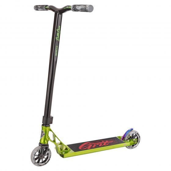 Grit Tremor Stunt Scooter Polished Green/Black