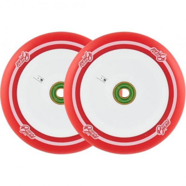 Urbanartt Original 110mm Scooter Wheels Red 2 Pack