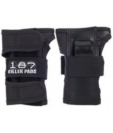 187 Killer Wrist Guard Pads Black Extra Small