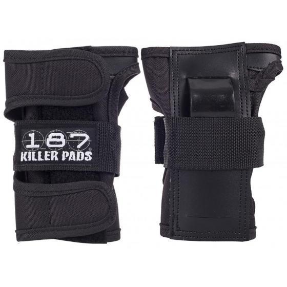 187 Killer Wrist Guard Pads Black Small
