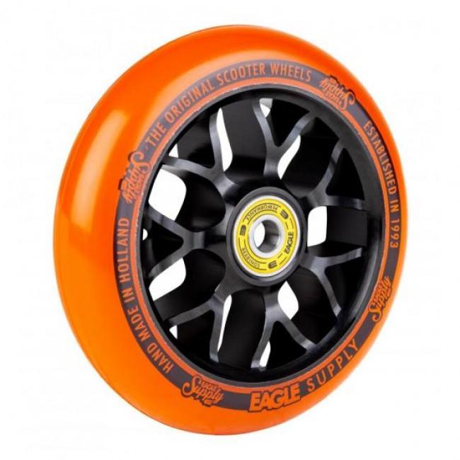Eagle Standard X6 Core Scooter Wheel Black/Orange 110mm