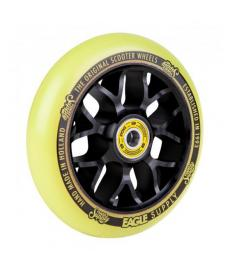 Eagle Standard X6 Core Scooter Wheel Black/Yellow 110mm