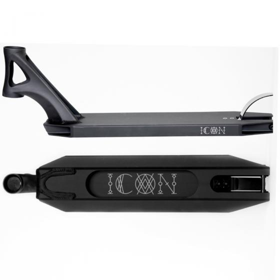 Drone Icon Scooter Deck Matt Black 21""