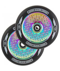 Longway Precinct V2 Hollow Scooter Wheels Neo Chrome 120mm