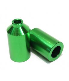 Blunt Aluminium Scooter Pegs Green