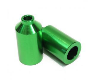 Blunt Aluminium Scooter Pegs Green