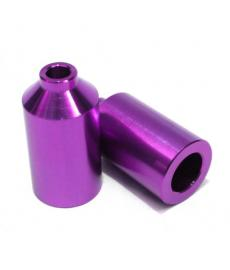 Blunt Aluminium Scooter Pegs Purple