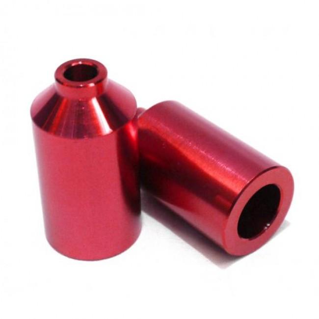 Blunt Aluminium Scooter Pegs Red