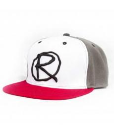 Rampworx Snapback Hat LE 97.10 Grey/White/Red