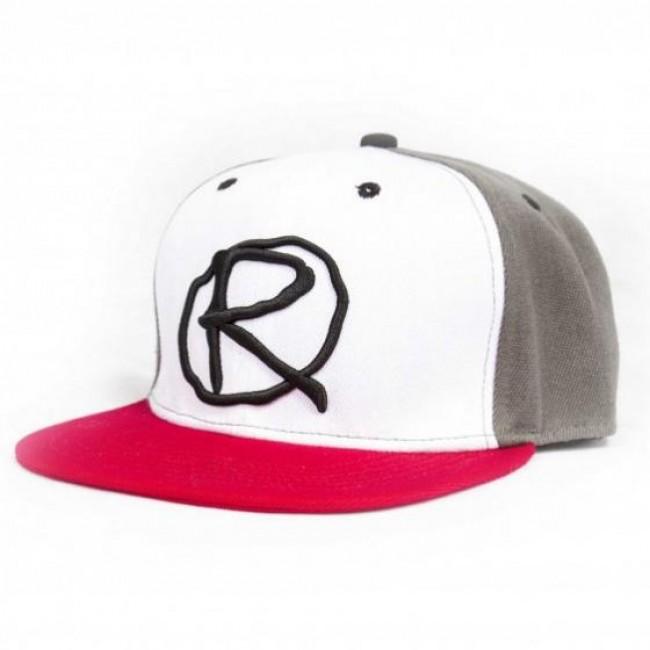 Rampworx Snapback Hat LE 97.10 Grey/White/Red