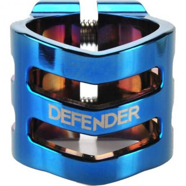 Longway Defender Scooter Clamp Oversized Neo Blue