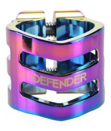 Longway Defender Scooter Clamp Oversized Neo Chrome