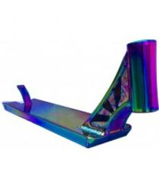 "Infinity Street Scooter Deck Neo Chrome 23"" x 5"""