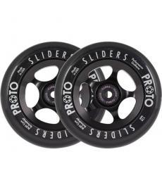 Proto Slider Scooter Wheels 110mm 2 Pack Black