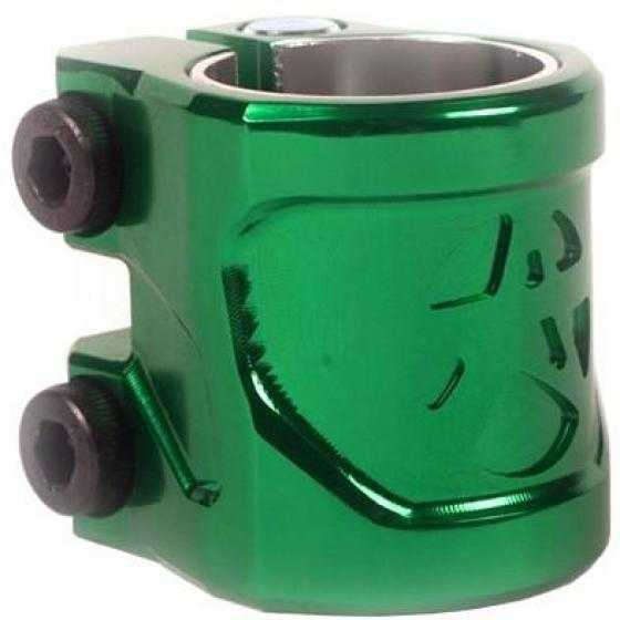Addict Shield Scooter Clamp Bottle Green