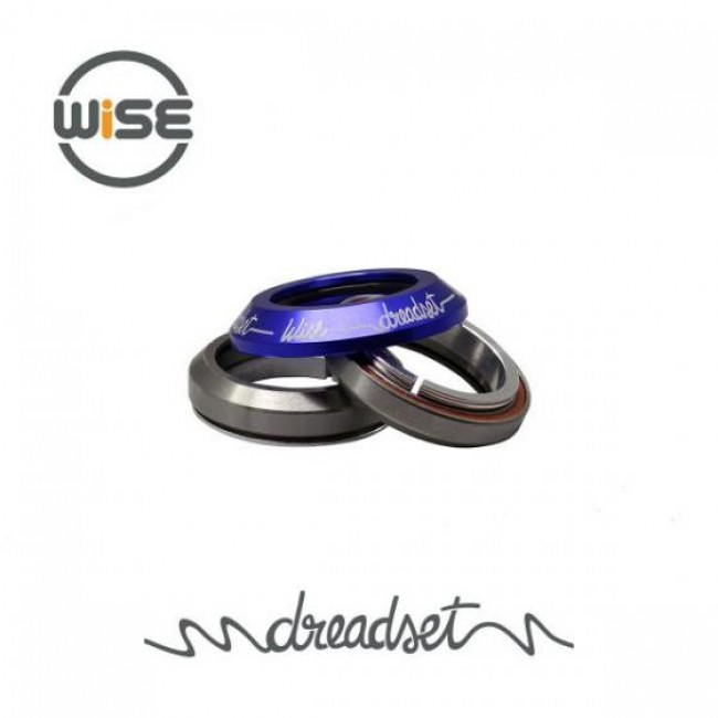 Wise Dreadset Integrated Headset Blue