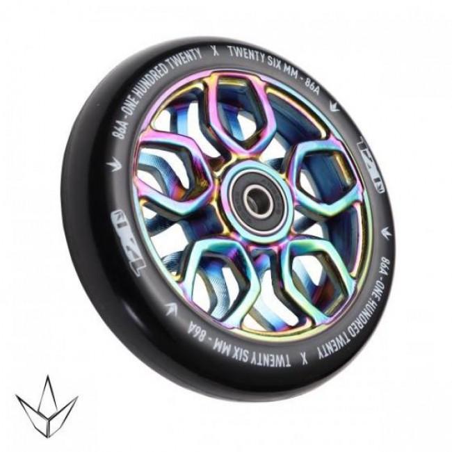 Blunt Lambo 120mm Scooter Wheel Neo Chrome
