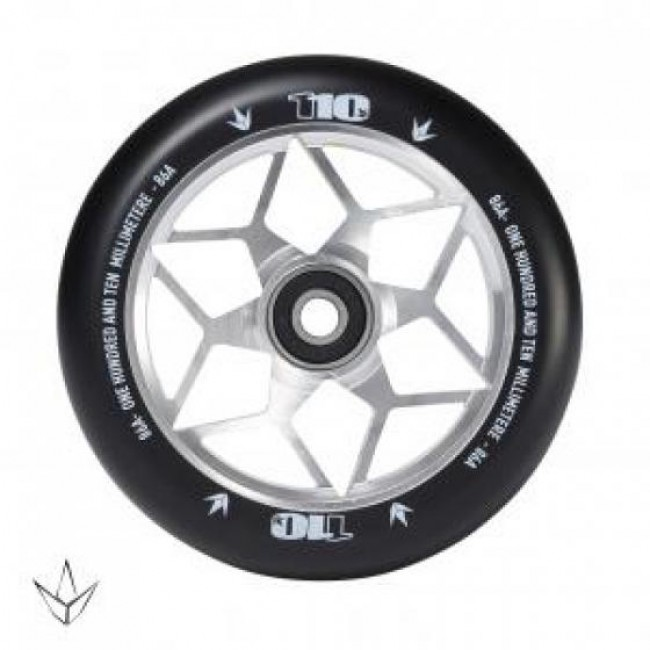Blunt Diamond Scooter Wheel Chrome 110mm