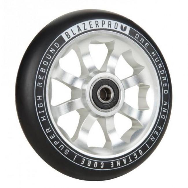 Blazer Octane Scooter Wheel 110mm Silver