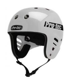 ProTec Full Cut Water Helmet White Small