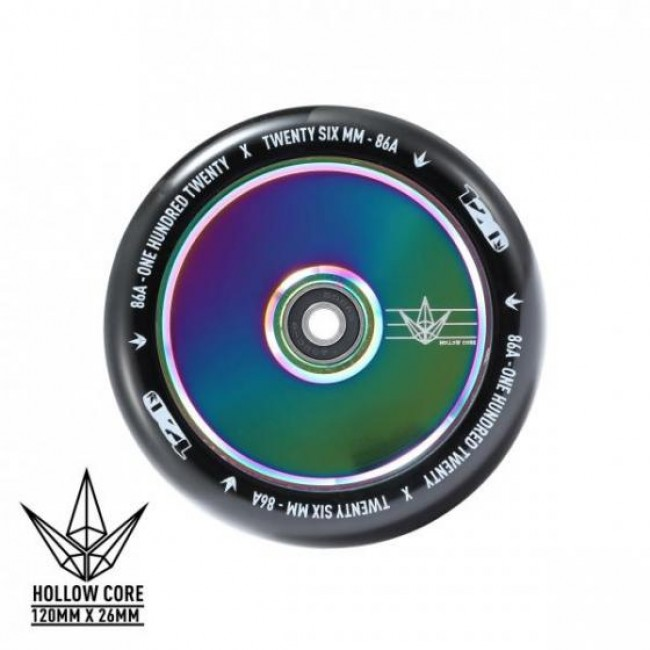 Blunt Hollowcore Scooter Wheel Oil Slick 120mm