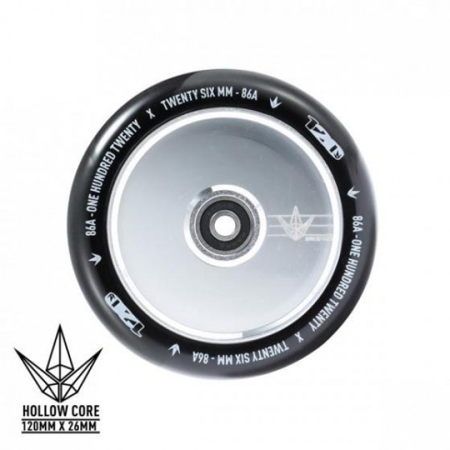 Blunt Hollowcore Scooter Wheel Polished 120mm