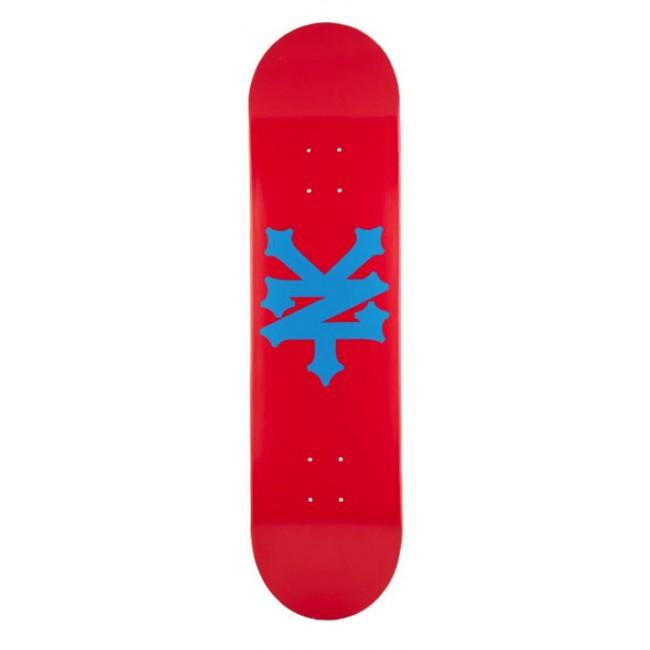 Zoo York Big Cracker Skateboard Deck Brick 8.1