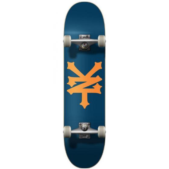 Zoo York OG 95 Crackerjack Skateboard 8/'/' park street trick rollbrett blau