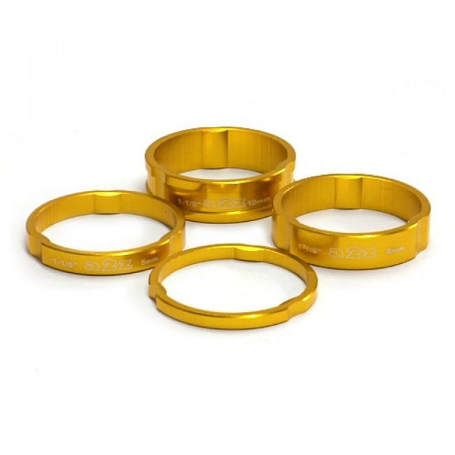A2z Headset Spacers Gold