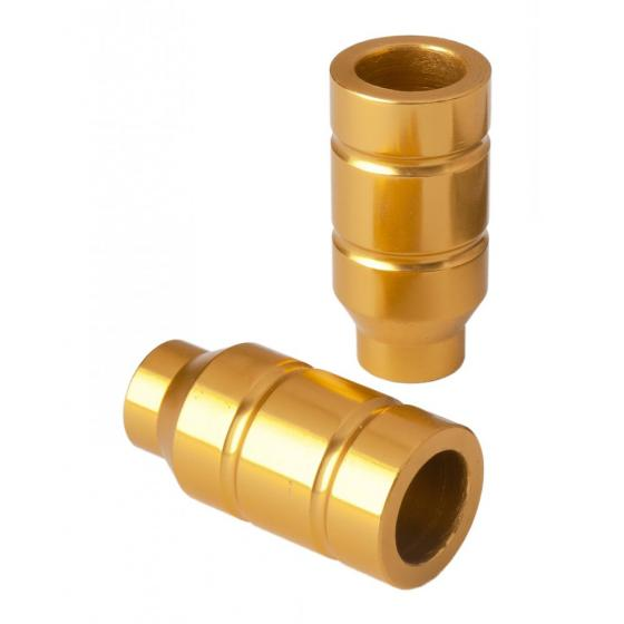 Grit Alloy Scooter Pegs Gold
