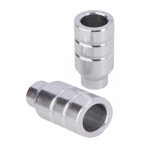 Grit Alloy Scooter Pegs Silver