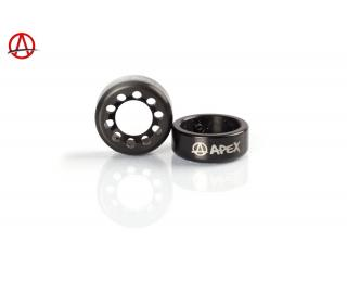 Apex Bar Ends Black