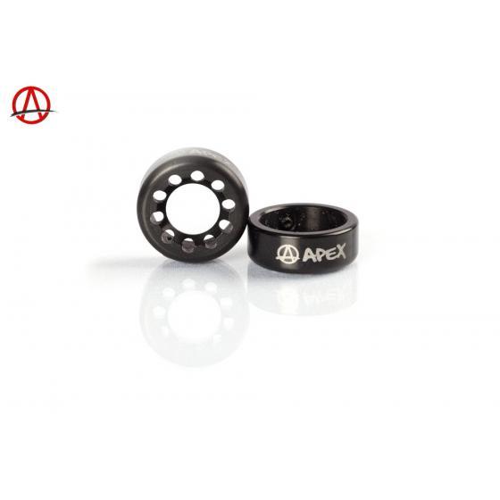 Apex Bar Ends Black