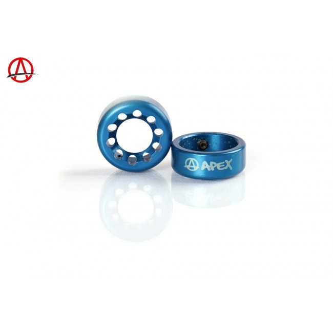 Apex Bar Ends Blue