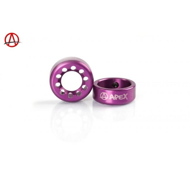 Apex Bar Ends Purple