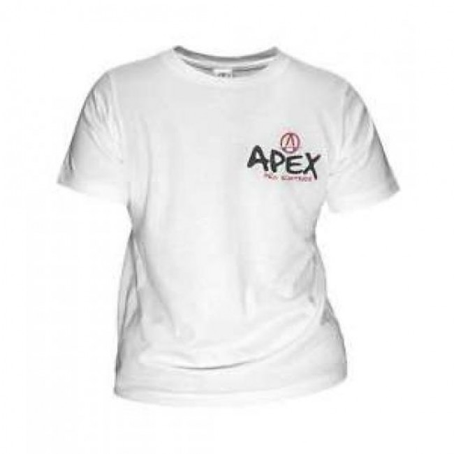 Apex Pro Scooters T-Shirt White Large