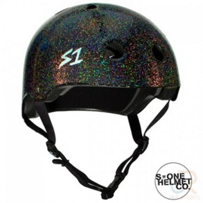 S1 Lifer Helmet Black Gloss Glitter