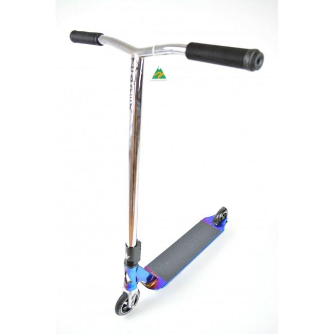 Blunt AOS V3 Jesse Ikedah Apex Custom Stunt Scooter Chrome
