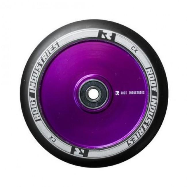 Root Industries Air Wheel Black/Purple 120mm